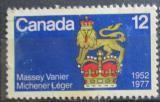 Poštovní známka Kanada 1977 Znak guvernerů Mi# 660
