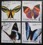 Poštovní známky Guinea-Bissau 2006 Motýli Mi# 3386-89