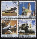 Poštovní známky Guinea-Bissau 2003 Raketoplán Columbia Mi# 2072-75