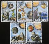 Poštovní známky Guinea-Bissau 2009 Astronomie Mi# 4091-95