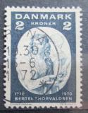 Poštovní známka Dánsko 1970 Bertel Thorvaldsen, sochař Mi# 506