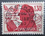 Poštovní známka Dánsko 1979 Adam Oehlenschlager, básník Mi# 694
