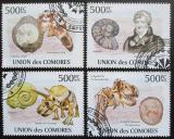 Poštovní známky Komory 2009 Fosílie Mi# 2642-45 Kat 9€