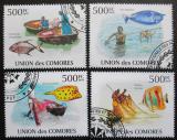 Poštovní známky Komory 2009 Indický oceán Mi# 2686-89