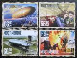 Poštovní známky Mosambik 2016 Vzducholodě Mi# 8549-52 Kat 15€
