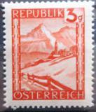 Poštovní známka Rakousko 1947 Lermoos, Tyrolsko Mi# 838