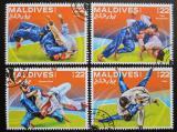 Poštovní známky Maledivy 2016 Judo Mi# 6399-6402