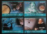 Poštovní známky Togo 2010 Galileo Galilei Mi# 3489-92 Kat 12€