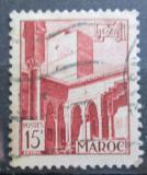 Poštovní známka Maroko 1951 Architektura, Rabat Mi# 305