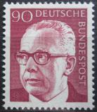Poštovní známka Německo 1971 Prezident Heinemann Mi# 643
