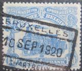 Poštovní známka Belgie 1919 Železniční Mi# 78