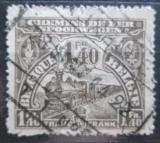 Poštovní známka Belgie 1920 Železniční Mi# 94