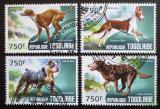 Poštovní známky Togo 2014 Psi Mi# 6031-34