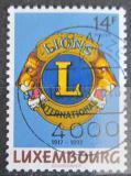 Poštovní známka Lucembursko 1992 Lions Intl, 75. výročí Mi# 1295