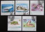 Poštovní známky Guinea-Bissau 2010 Fauna, WWF Mi# 4810-14 Kat 13€