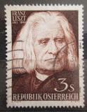 Poštovní známka Rakousko 1961 Franz Liszt Mi# 1099