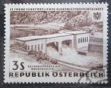 Poštovní známka Rakousko 1962 Vodní elektrárna Mi# 1106