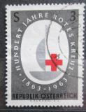 Poštovní známka Rakousko 1963 Mezinárodní červený kříž, 100. výročí Mi# 1135