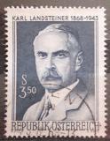 Poštovní známka Rakousko 1968 Karl Landsteiner Mi# 1266