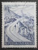 Poštovní známka Rakousko 1971 Most přes průsmyk Brenner Mi# 1372