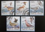 Poštovní známky Komory 2009 Ptáci Mi# 2367-71