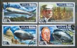 Poštovní známky Maledivy 2014 Vzducholodě Mi# 5370-73 Kat 11€