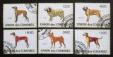 Poštovní známky Komory 2009 Psi Mi# 2135-41