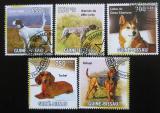 Poštovní známky Guinea-Bissau 2010 Psi Mi# 4725-29 Kat 14€