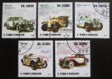 Poštovní známky Svatý Tomáš 2009 Stará auta Mi# 4254-58