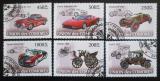 Poštovní známky Komory 2008 Automobily Mi# 1831-36