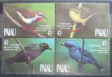 Poštovní známky Palau 1990 Ptáci Mi# 347-50 Kat 8.50€