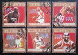 Poštovní známky Komory 2010 Basketbalové hvězdy Mi# 2859-64