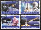 Poštovní známky Togo 2010 Satelity Mi# 3794-97 Kat 12€