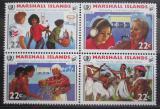 Poštovní známky Marshallovy ostrovy 1985 Mezinárodní rok mládeže Mi# 54-57