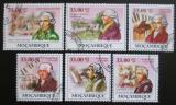 Poštovní známky Mosambik 2009 Joseph Haydn Mi# 3392-97