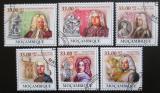 Poštovní známky Mosambik 2009 Georg Friedrich Handel Mi# 3385-90