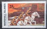 Poštovní známka Marshallovy ostrovy 1989 Historie Druhé světové války Mi# 244