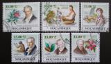 Poštovní známky Mosambik 2009 Alexander von Humboldt Mi# 3420-25