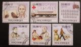 Poštovní známky Mosambik 2009 Louis Braille Mi# 3427-32