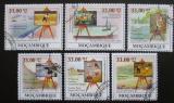 Poštovní známky Mosambik 2009 Umění, Seurat Mi# 3441-46