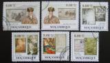 Poštovní známky Mosambik 2009 Umění, Shen Zhou Mi# 3273-78