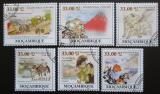 Poštovní známky Mosambik 2009 Umění, Katsushika Hokusai Mi# 3406-11