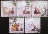 Poštovní známky Guinea-Bissau 2009 Nobelova cena 1913 Mi# 4527-31