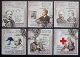 Poštovní známky Guinea-Bissau 2009 Nobelova cena 1916-18 Mi# 4532-37