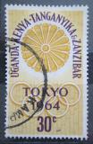 Poštovní známka K-U-T 1964 LOH Tokio Mi# 132