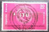 Poštovní známka K-U-T 1965 ITU, 100. výročí Mi# 140