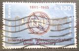 Poštovní známka K-U-T 1965 ITU, 100. výročí Mi# 142