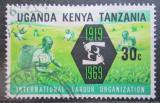 Poštovní známka K-U-T 1969 ILO, 50. výročí Mi# 185
