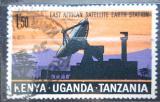 Poštovní známka K-U-T 1970 Satelitní stanice Mi# 203