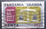 Poštovní známka K-U-T 1971 Přechod na metrickou soustavu Mi# 213